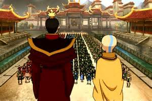 Avatar Fire Lord Zuko and Aang