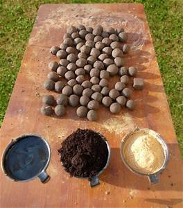 Holzleisten Selber Herstellen : seedballs selber herstellen anleitung ~ Whattoseeinmadrid.com Haus und Dekorationen