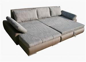 L Sofa Mit Schlaffunktion : sofa mit schlaffunktion karma couchgarnitur ecksofa sofagarnitur wohnlandschaft ~ Frokenaadalensverden.com Haus und Dekorationen