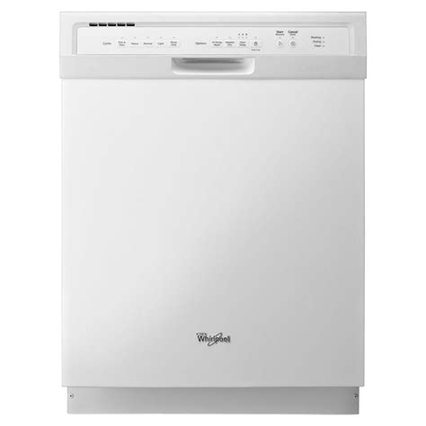 Whirlpool Gold Series Top Control Dishwasher In White Ice