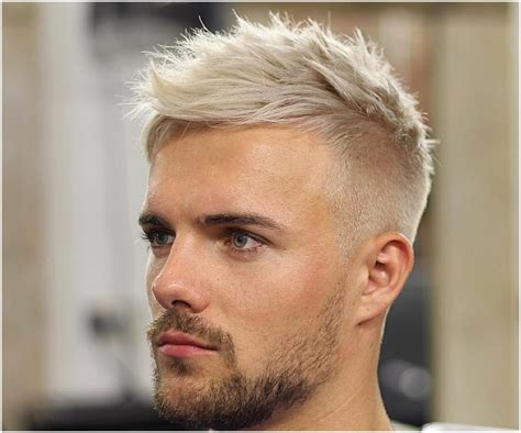 25 aesthetic guys haircuts with blonde hair find your