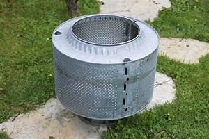 waschmaschinentrommel als feuerkorb klimaanlage und heizung With feuerstelle garten mit balkon solaranlage test
