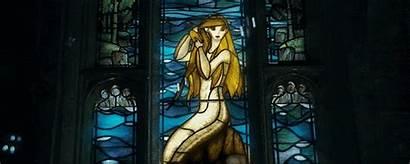 Potter Harry Mermaid Window Glass Stained Harryweb