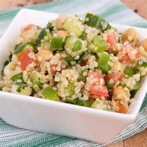 recette mini taboule de quinoa au saumon fume facile rapide