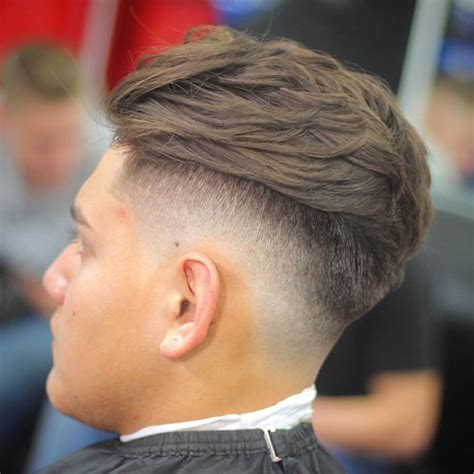 drop fade haircuts  men  guide