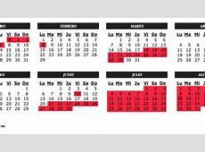 Semana Santa Calendario escolar de la Comunidad de Madrid
