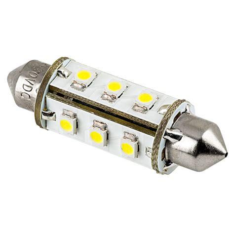6451 led bulb 12 smd led 360 degree festoon 42mm