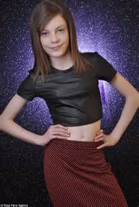 Look Whos Laughing Now Schoolgirl Who Was Bullied For Her Petite Frame Lands Three Modelling