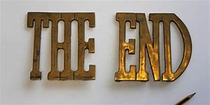 the end pictures signs wwwpixsharkcom images With buy old sign letters