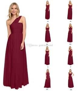 bridesmaid dresses in burgundy best 25 burgundy bridesmaid dresses ideas on wedding bridesmaids groomsmen colours
