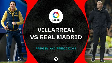 Villarreal vs Real Madrid live stream: How to watch La ...