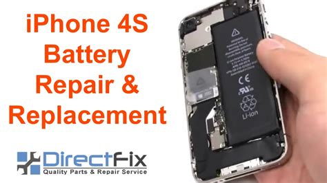 how to iphone 4s battery replacement