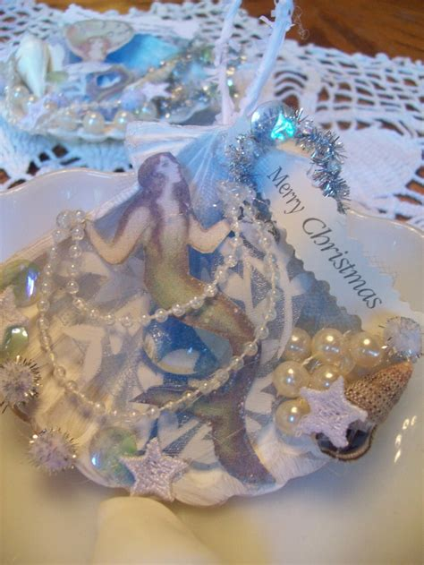 mermaid ornaments 1000 images about mermaid ornaments on spun cotton ornament and