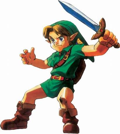 Link Oot Zelda Enfant Ocarina N64 Younglink