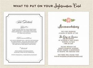 what to put on your info card destination weddings With wedding invitations what information to include