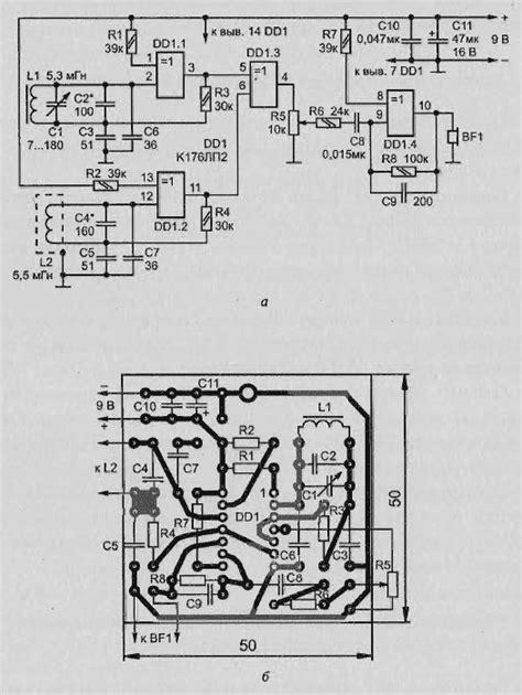 metal detectors on chips with schema comparison metal detector in 2019