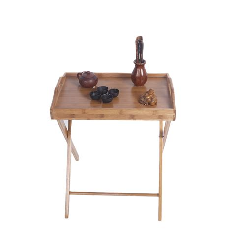 wooden tv trays with stand wooden folding wood tv tray dinner table coffee stand 1964