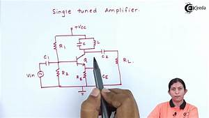 Single Tuned Circuit Diagram  Frequency Response