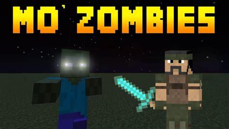 minecraft mods mo zombies herobrine zombie zombie