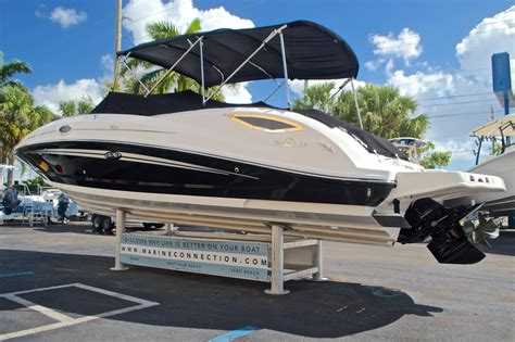 used 2013 sea 300 sun deck boat for sale in west palm fl 1074 new used boat