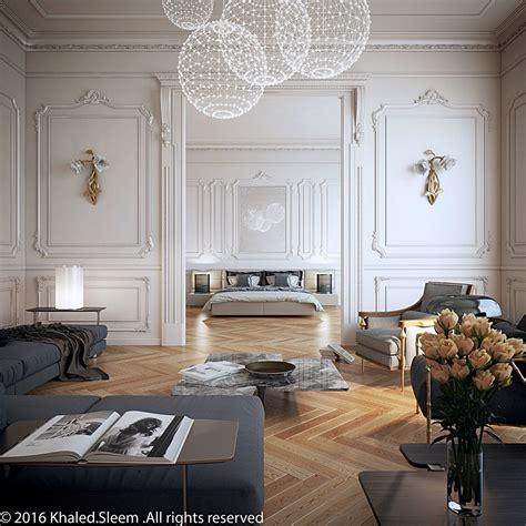 living room bedroom camel floors white walls grey