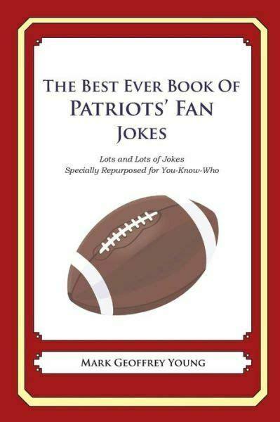 book  patriots fan jokes lots  lots