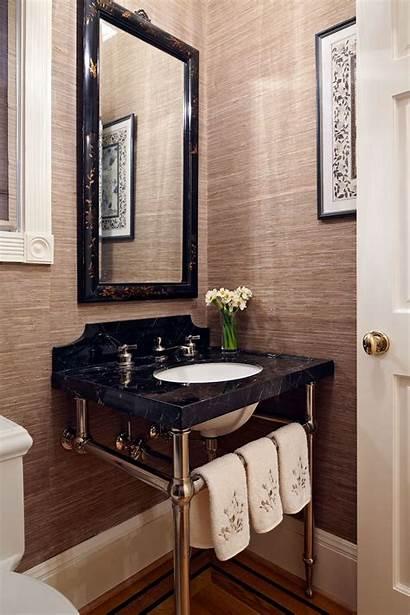 Bathroom Bathrooms Textured Powder Trends Guest Homedit