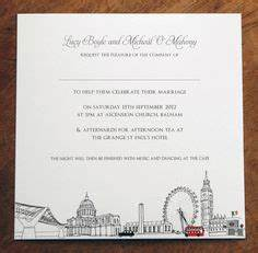 london theme sweet sixteen laser cut thermographic With laser cut wedding invitations london