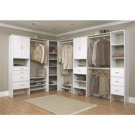 Closetmaid Systems - closetmaid selectives 16 in white custom closet organizer