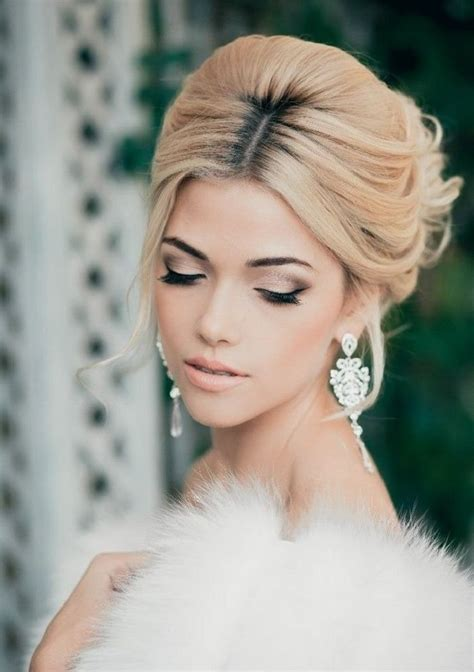 schminken hochzeit braut   ideen tipps blonde