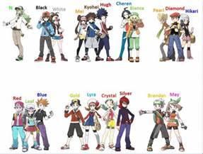 pokemon trainer names