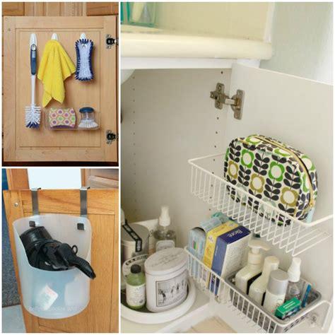 ways  organize   bathroom sink