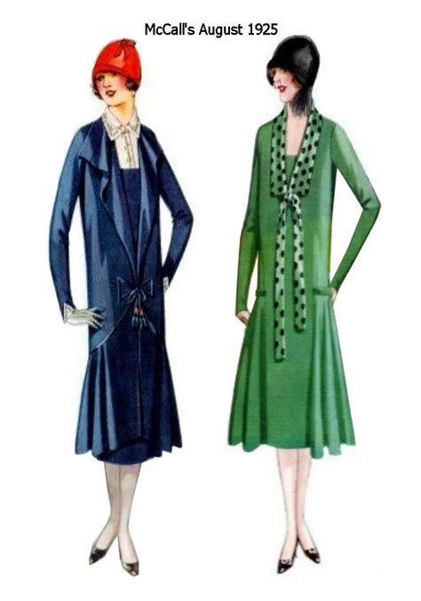 mccalls august  fashion history magazine images