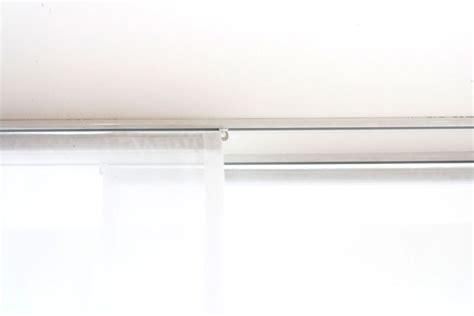 Vorhang Für Vorhangschiene by Vorhangschiene 200cm Weiss 214 Ffnung Rechts Vorhang123 At