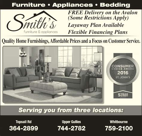 smith s furniture appliances opening hours 1214