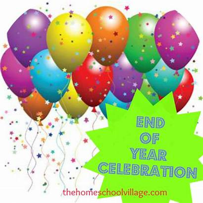 End Celebration Balloons Celebrations Thehomeschoolvillage Worked Ve