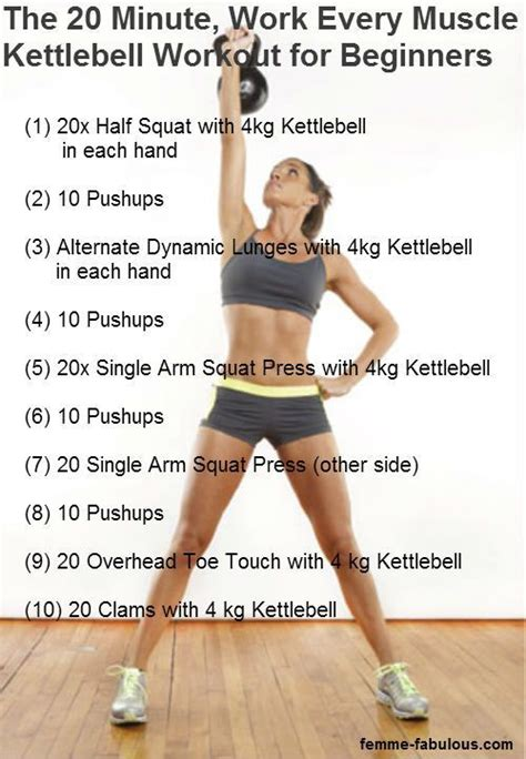 kettlebell workouts kettle workout exercises bell beginners kettlebells beginner minute training body cardio routines exercise ball plans fitness plan every