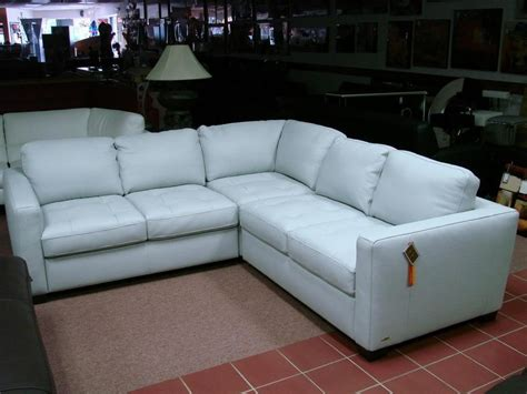Light Blue Leather Sectional Sofa Sectional Sofa Design