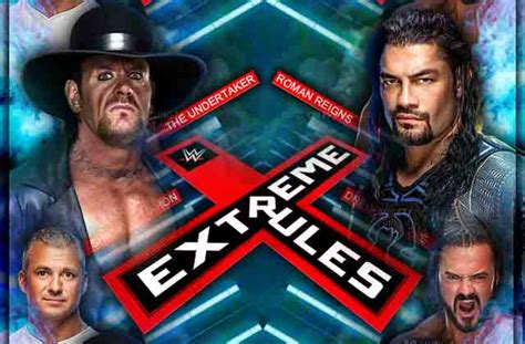 Wwe Extreme Rules 2019 Time In India, Live Stream, Date
