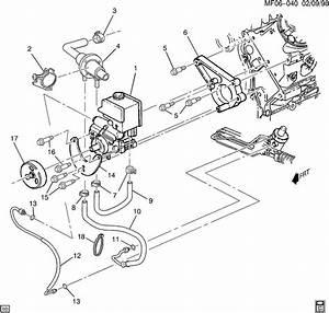 Steering Pump Lines And Pump Mtg