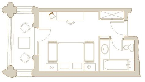 plan chambre hotel plans chambres traditionnelles