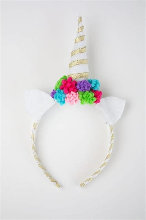 easy unicorn headband craft