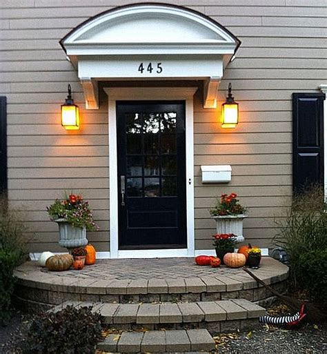 outdoor entry ideas halloween porch and entryway ideas from subtle to scary
