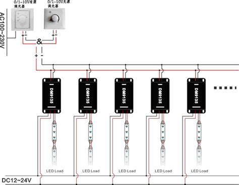 Wire Diagram 24v Driver by 0 10 Volt Dimming Wiring Diagram