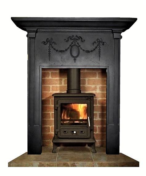 buy  antique edwardian cast iron fireplace surround