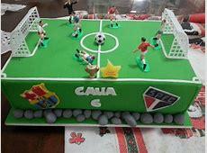 Bolo Futebol Charm Cake Elo7