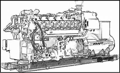 Applications Generator Sketch Gas Engine Controls