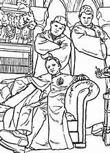 Potter Harry Coloring Pages Chamber Secrets Fun Kleurplaat Ron Weasley Kamer Geheime Hendersons Printable Goblet Fire Hp Sheet Characters Cartoon sketch template