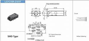 Connector - Audio Jack Schematic