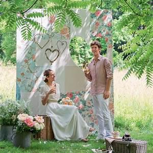 Decor Photobooth Mariage : photobooth mariage un panneau vintage pour faire de belles photos marie claire ~ Melissatoandfro.com Idées de Décoration